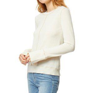 Habitual Ivory Sora Wool & Cashmere Blend Sweater